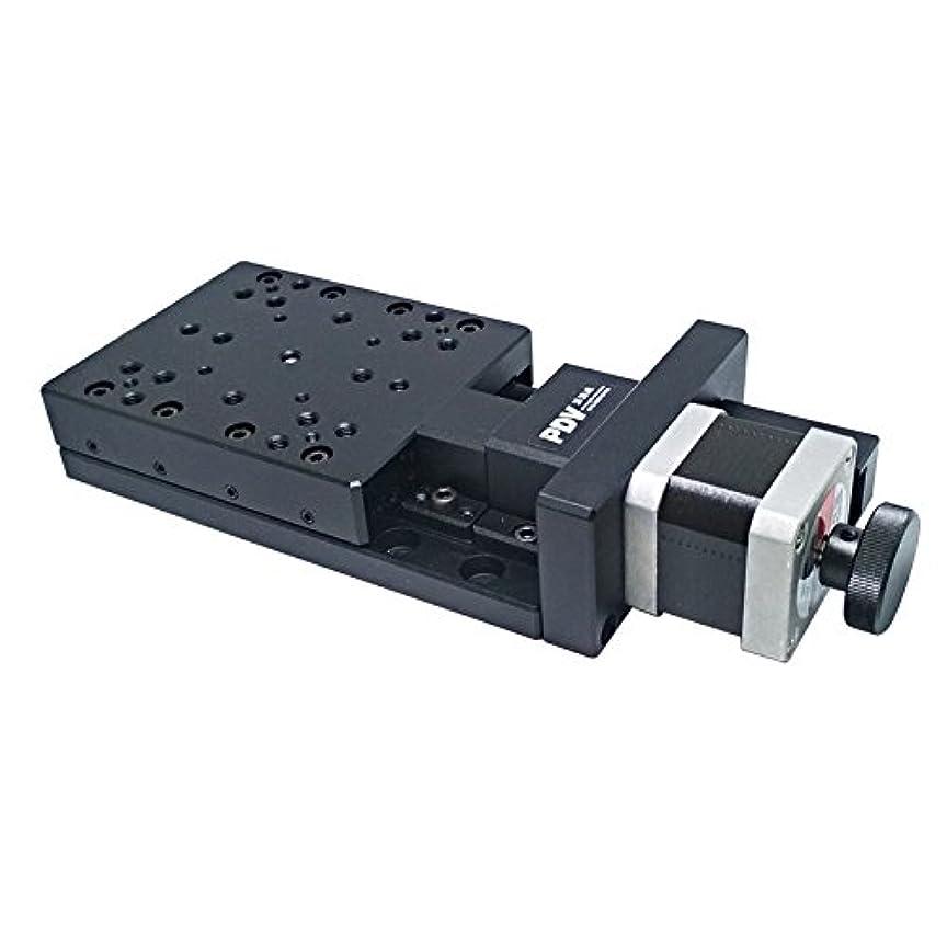 可能にする慈悲深い無駄にPP110-50 Precise Electric Pan (Cross Roller) Motorized Linear Stage Motorized Translating Stage