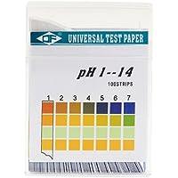 OUYOU pH試験紙 PH 1-14試験紙 水族館 スティックタイプ 100個入り