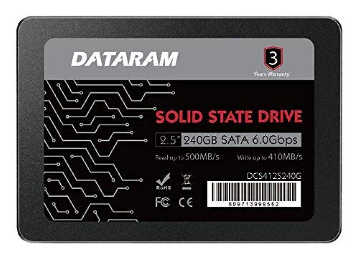 学ぶ一握り苦味DATARAM 240GB 2.5
