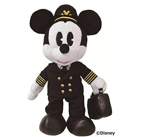 Disney ミッキー JALパイロット姿 JCBオリジナル...