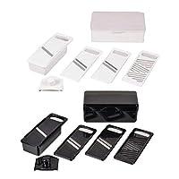 こちらの商品は【 ホワイト・C-2993 】のみです。 コンパクトに収納できるスライサーセット。 パール金属 ベジタブルスライサー4P 〈簡易梱包