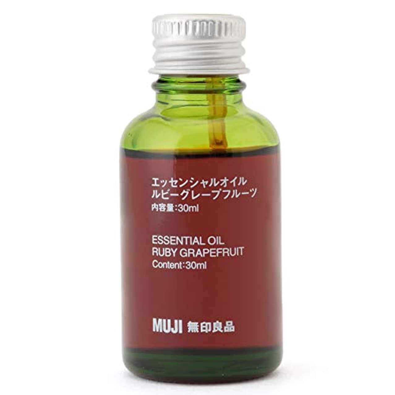 技術的な本体薬局【無印良品】エッセンシャルオイル30ml(ルビーグレープフルーツ)