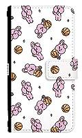 スマホケース 手帳型 scv38 ケース 8368-D. COOKY pattern SCV38 ケース 手帳 [Galaxy S9 SCV38] ギャラクシー エスナイン