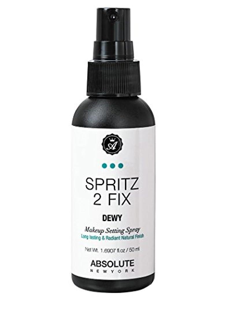 明るい官僚銀河ABSOLUTE Spritz 2 Fix Spray - Matte (並行輸入品)