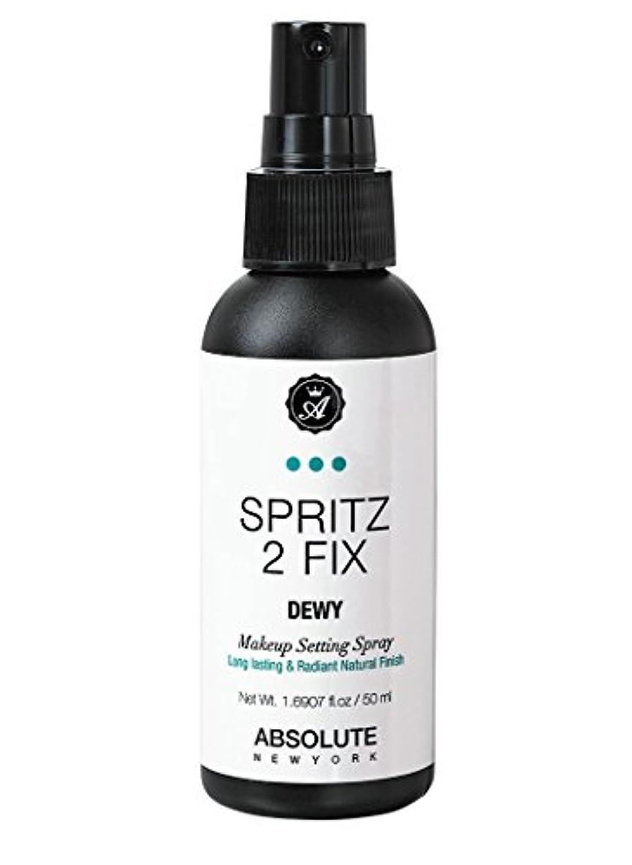 逃れる交通メインABSOLUTE Spritz 2 Fix Spray - Matte (並行輸入品)