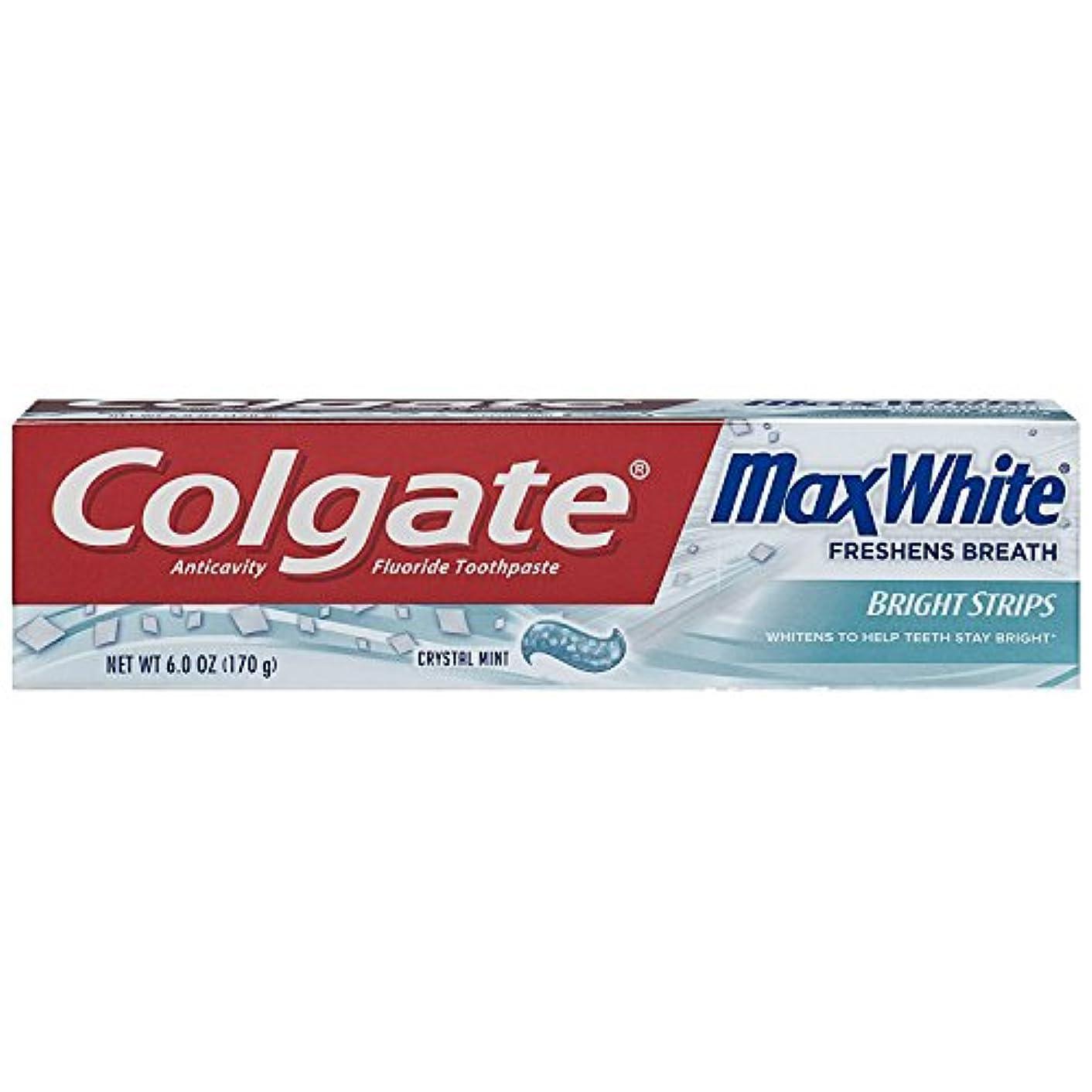 前者投票ママColgate ColgマックスWHT TpのCrysl MNTサイズ6Z
