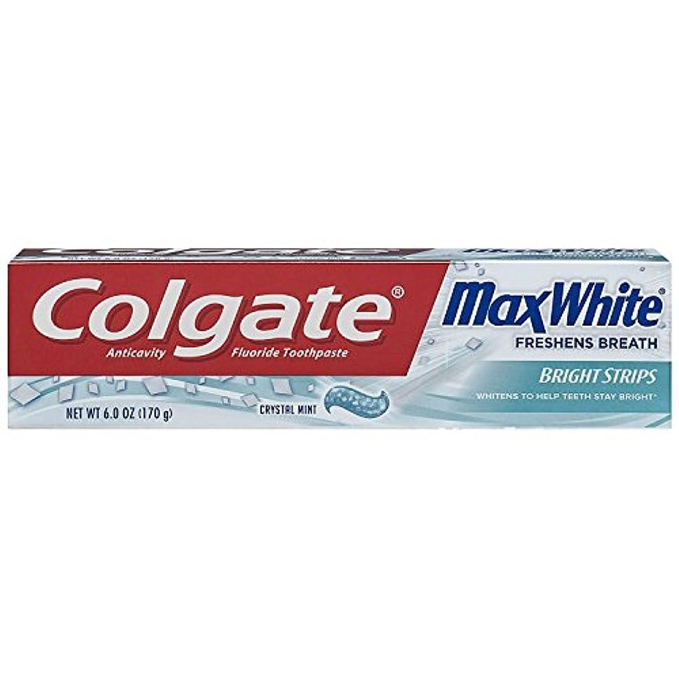勧告乱すこっそりColgate ColgマックスWHT TpのCrysl MNTサイズ6Z
