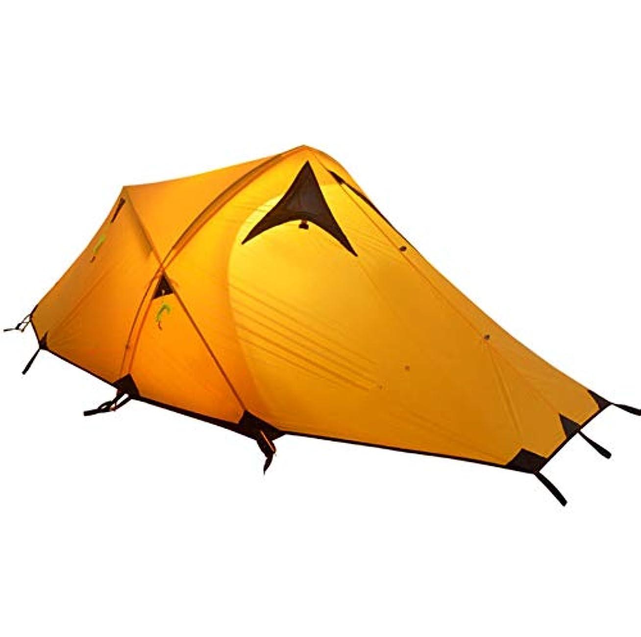 おもしろい発音するミニLYgMV 登山暴風雨屋外テントダブルダブル超軽量アルミポールキャンプテント機器