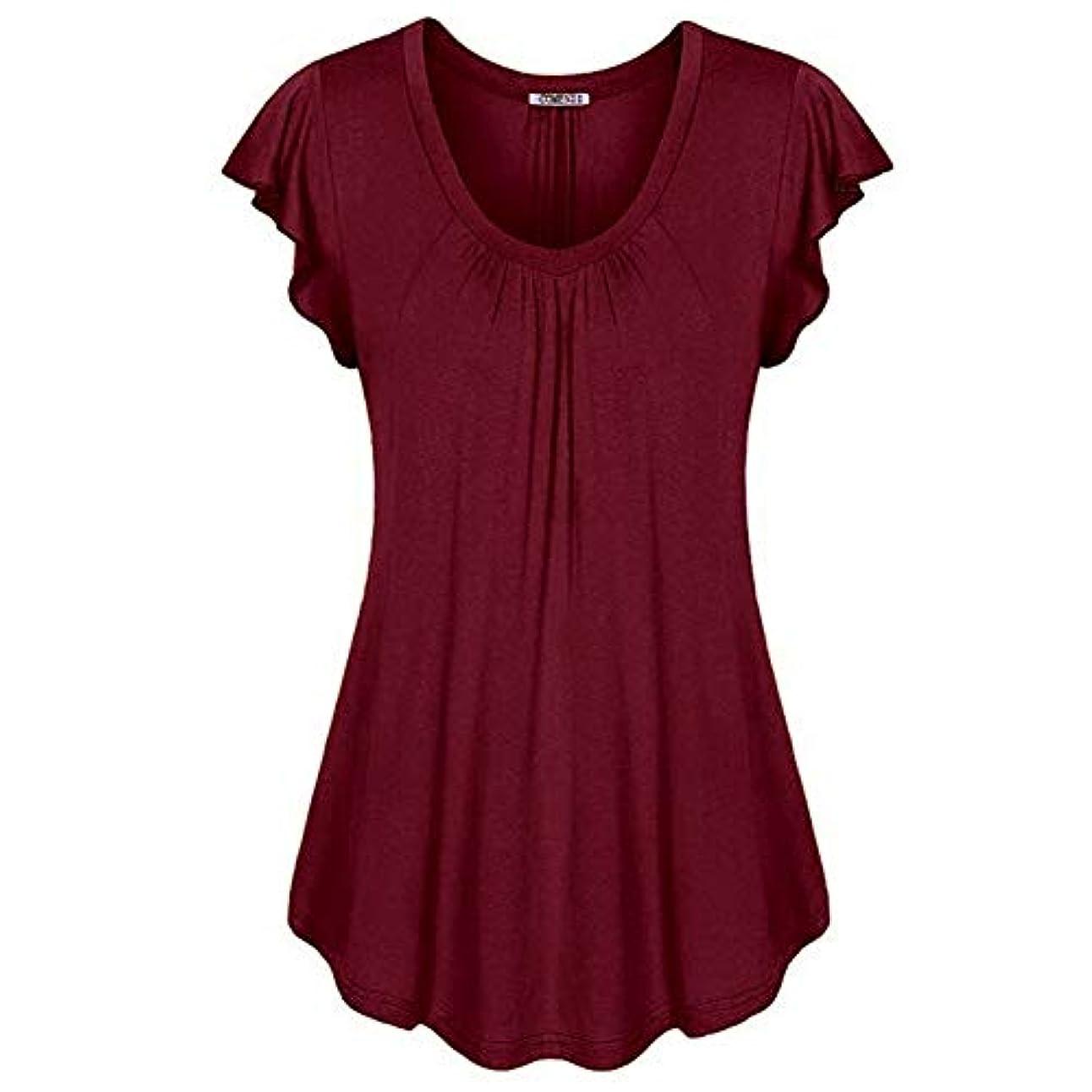 多くの危険がある状況好むMIFAN の女性のドレスカジュアルな不規則なドレスルースサマービーチTシャツドレス