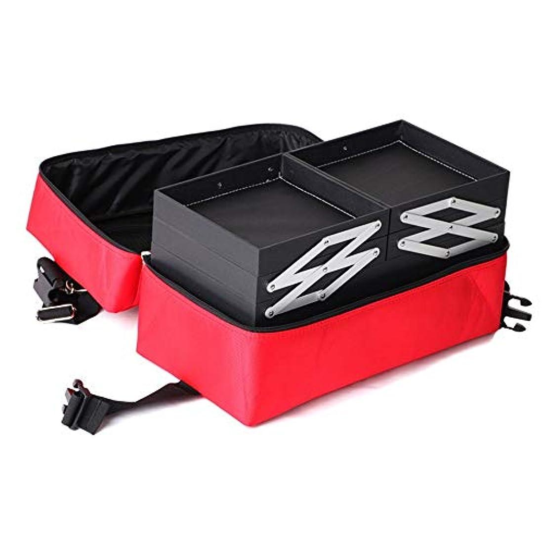 マエストロ樹皮娘化粧オーガナイザーバッグ メイクアップトラベルバッグストレージバッグ防水ミニメイクアップケース旅行旅行のための 化粧品ケース