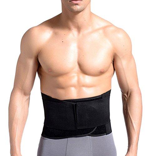 Zhhlaixing ウエストトリマーベルト Abdomen Belt Cincher Girdle Waist Slimming Belt Back Support Mother Gift for Men and Women