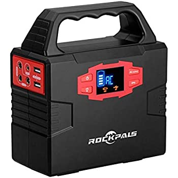 Rockpals ポータブル電源 小型発電機 40800mAh/150Wh 100W 家庭用蓄電池 DC AC USB 出力 地震・災害・停電に対応 S320