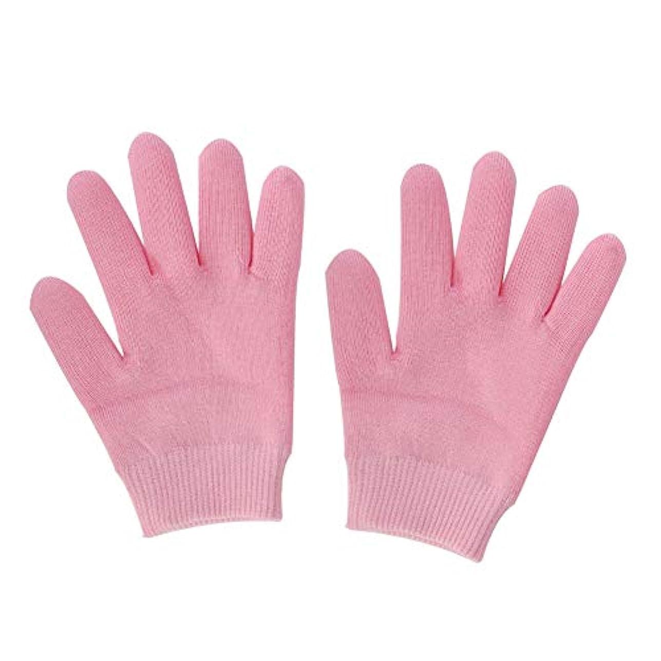 定説受信ジャグリング保湿スパジェルグローブソックス、ケア用ジェルライニングローション付きエッセンシャルオイルグローブを白くする手、肌にひびが入る、女性用フィンガーレスグローブ