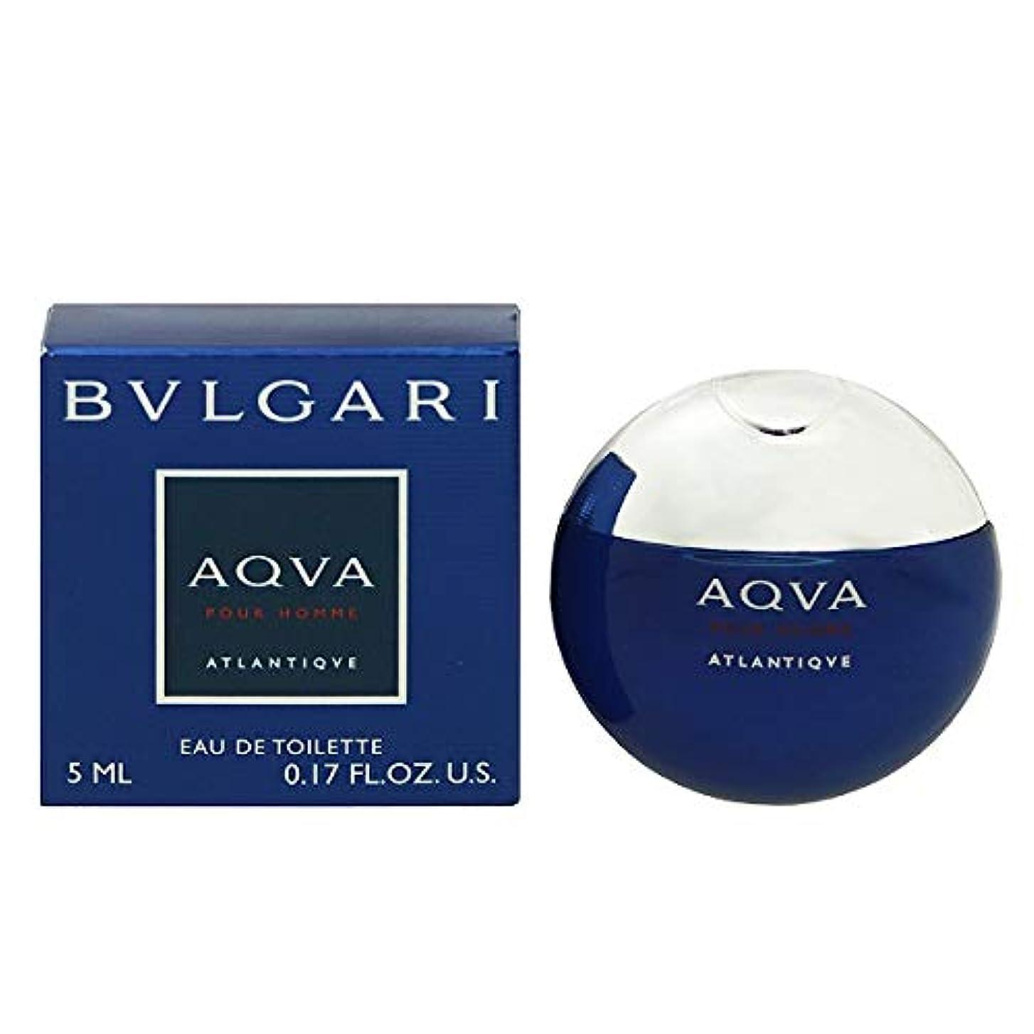 開示する集まる受け入れるブルガリ アクア プールオム アトランティック EDT 5ml ミニ香水(並行輸入品)