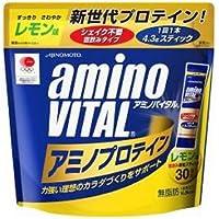 味の素 アミノバイタル プロテイン レモン風味 30本入り × 5個セット