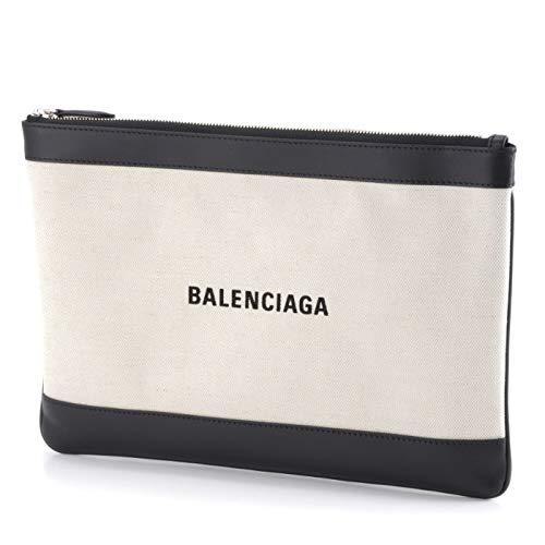 BALENCIAGA(バレンシアガ) NAVY CLIP M クラッチバッグ 420407 AQ37N 1080 [並行輸入品]