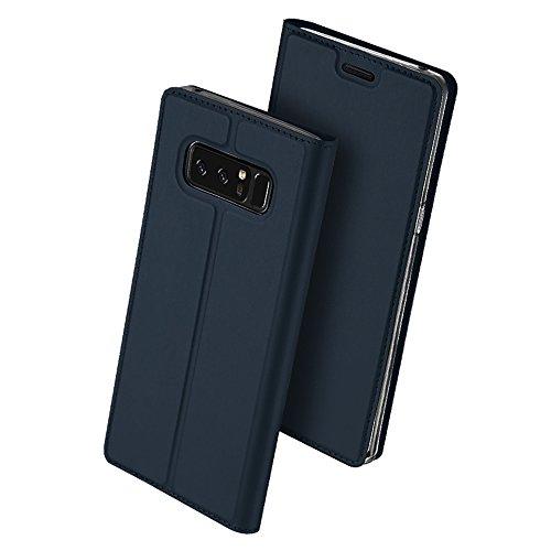Samsung Galaxy Note 8 ケース 手帳型 薄型 軽量 耐衝...