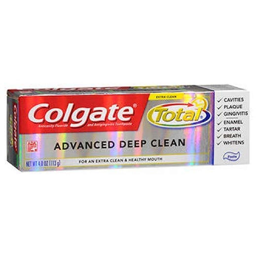 カッター材料最終Colgate 高度なクリーンプラスホワイトニング、貼り付け、4オンス