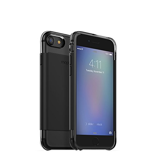 mophie Hold Force wrap Base Case for Apple iPhone 7 - Black by mophie