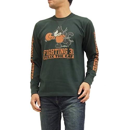 (トイズマッコイ) TOYS McCOY 長袖Tシャツ TMC1557 フィリックス・ザ・キャット felix the cat ブラック (M)