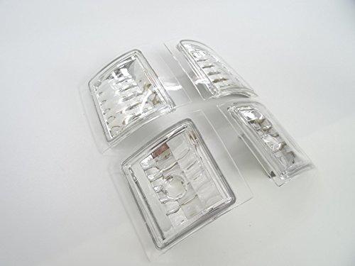 シボレー ダイヤモンド クリスタル コーナーランプ コーナー ライト サバーバン(92y〜99y)・タホ(92y〜99y)・C1500/K1500/C2500/K2500/K3500(89y〜99y)・S-10ブレイザー(92y〜94y
