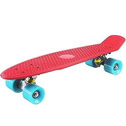 (リマブル)Rimable22インチのステレオビニールミニクルーザータイプコンプリートスケートボード【並行輸入品】