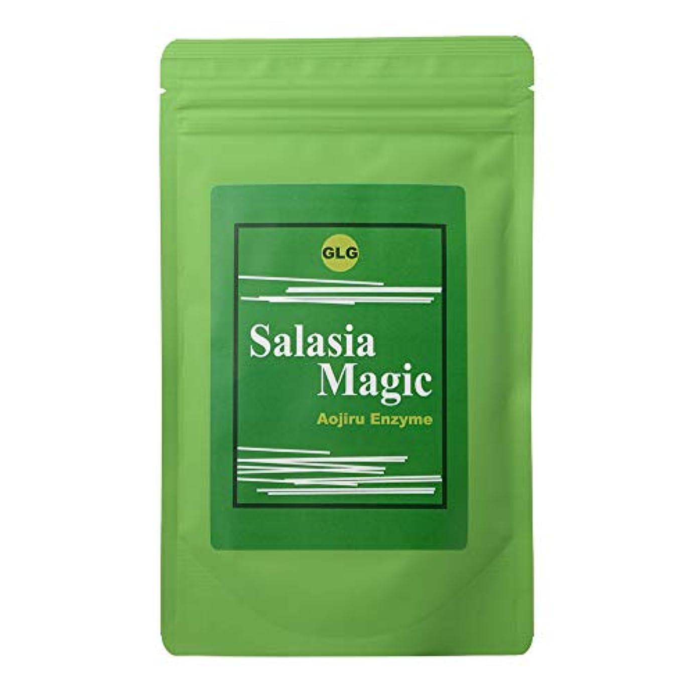 無外部仕事に行くサラシアマジック 青汁酵素 (ダイエットドリンク) お茶 健康飲料 粉末 [内容量150g/ 説明書付き]