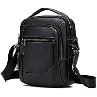 Men's Shoulder Bag, Popoti Handbag Crossbody Bag Leather Shopping School Backpack Messenger Carrying Bags Tote Wallet Multifunction Small Pocktes