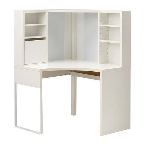 IKEA(イケア) MICKE ホワイト コーナーワークステーション