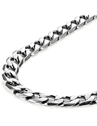 Classic Mens Necklace メンズ ネックレス 316L Stainless Steel Silver Chain Color