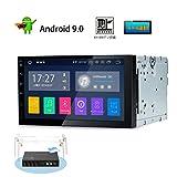 カーナビ 2din XTRONS アンドロイド9.0 一体型車載PC フルセグ 地デジ搭載 7インチ オーディオ RAM2G Bluetooth 4G WIFI GPS ミラーリング OBD2(TA709SIPL-NOMAP)