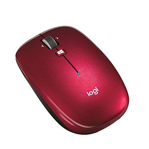 LOGICOOL Bluetoothマウス m557 レッド M557RD