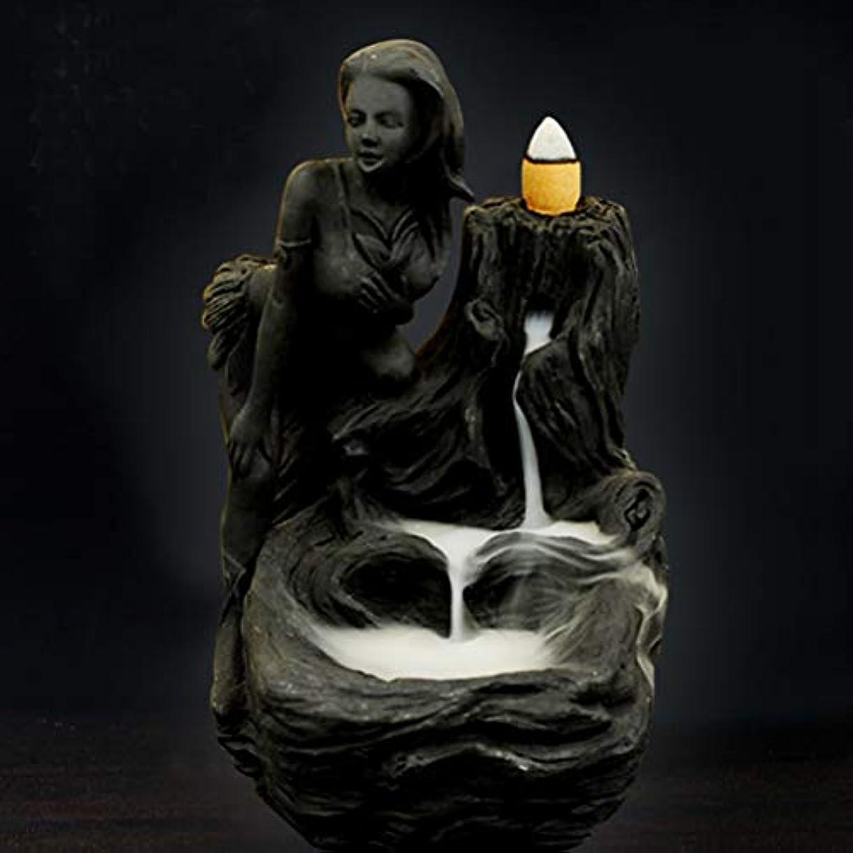 インカ帝国プロポーショナル金額女神香炉煙逆流タワー香炉香炉香炉ホルダー香炉ホームデコレーション