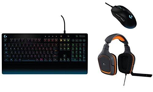 【ロジクールG ゲーミングデバイス Prodigyセット】マウス(有線)G403 キーボードG213 ヘッドセットG231