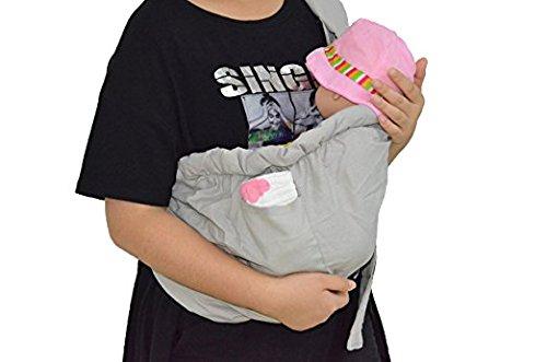 Kangaroobaby 新生児 ベビースリング(クリーム色の)