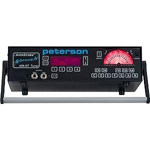 Peterson ピーターソン ストロボ・チューナー ストレッチ機能付き Auto Strobe T490-ST 【国内正規輸入品】