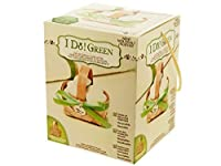 Recycled Wood Favor Baskets-Package Quantity 24 by I Do Green!