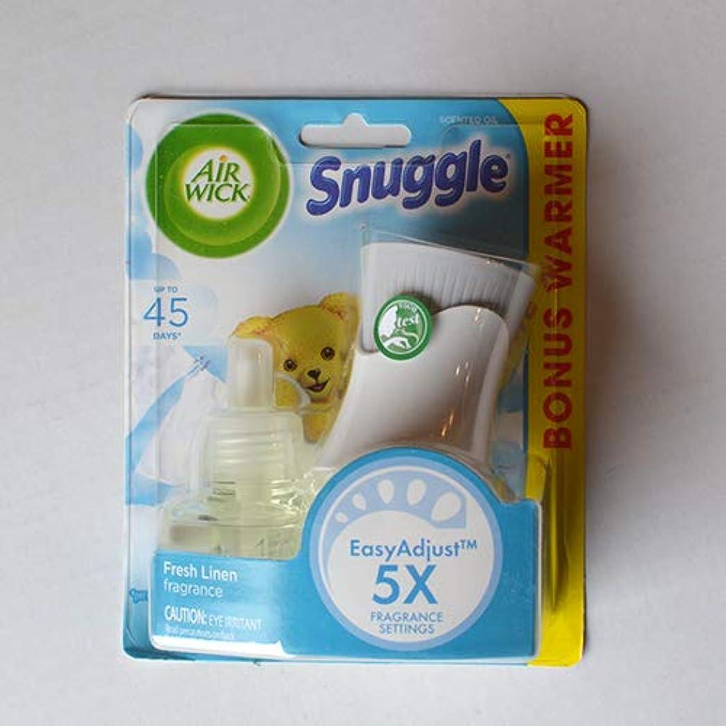 チューインガムコンピューターを使用する不満AIR WICK スタートキット エアウィック オイル芳香剤(詰替えボトル&本体セット) スナッグルフレッシュリネン20ml Snuggle