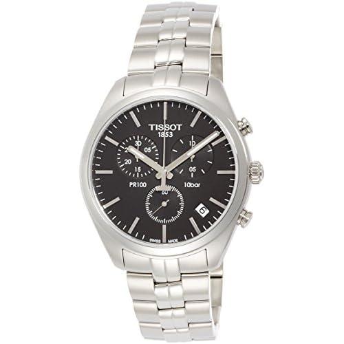 [ティソ]TISSOT 腕時計 PR100 ジェント クロノグラフ 10気圧防水 T1014171105100 メンズ 【正規輸入品】