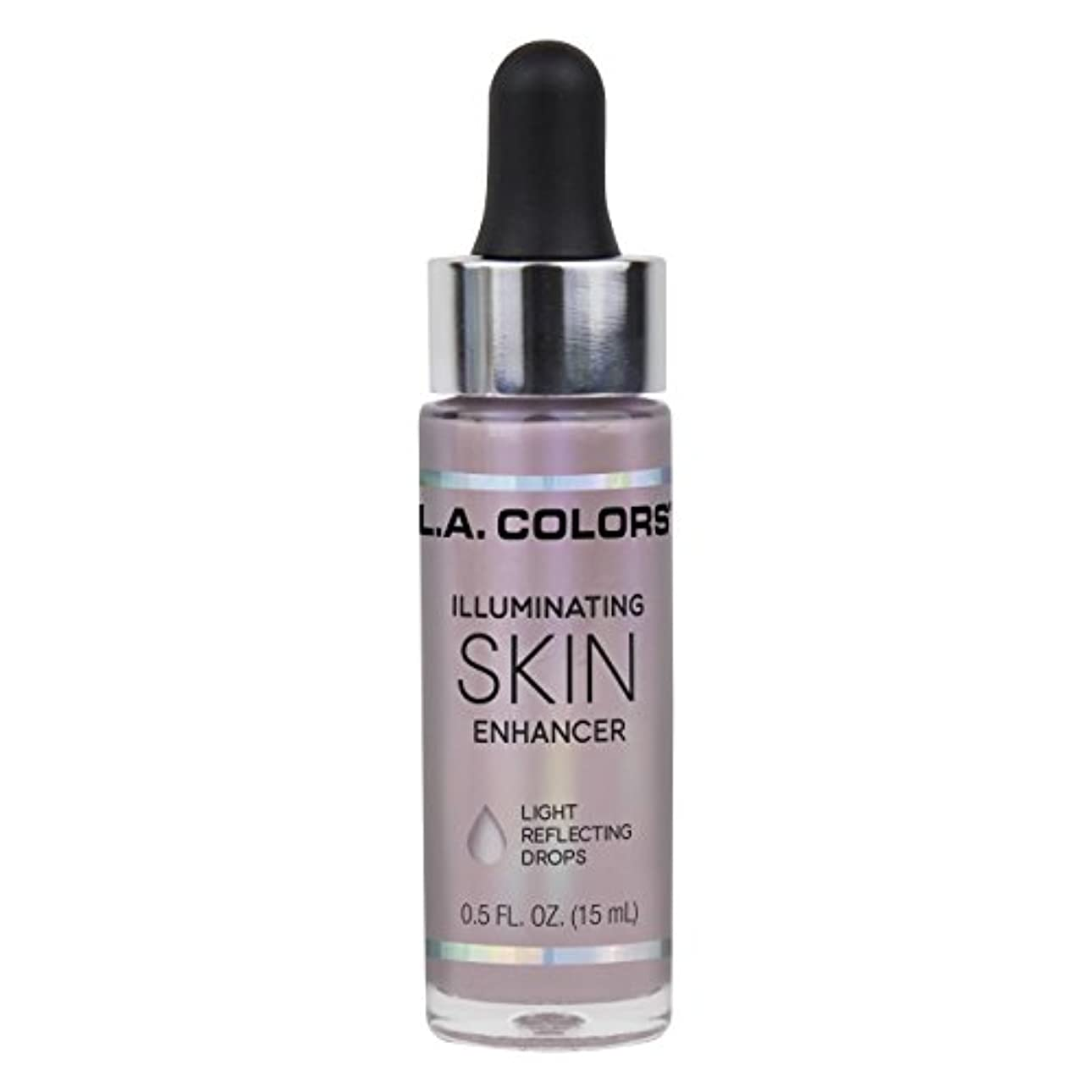 基礎照らす区別L.A. COLORS Illuminating Skin Enhancer - Moonbeam (並行輸入品)