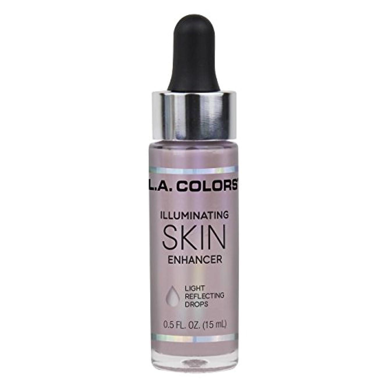 印刷するを除くお酢L.A. COLORS Illuminating Skin Enhancer - Moonbeam (並行輸入品)