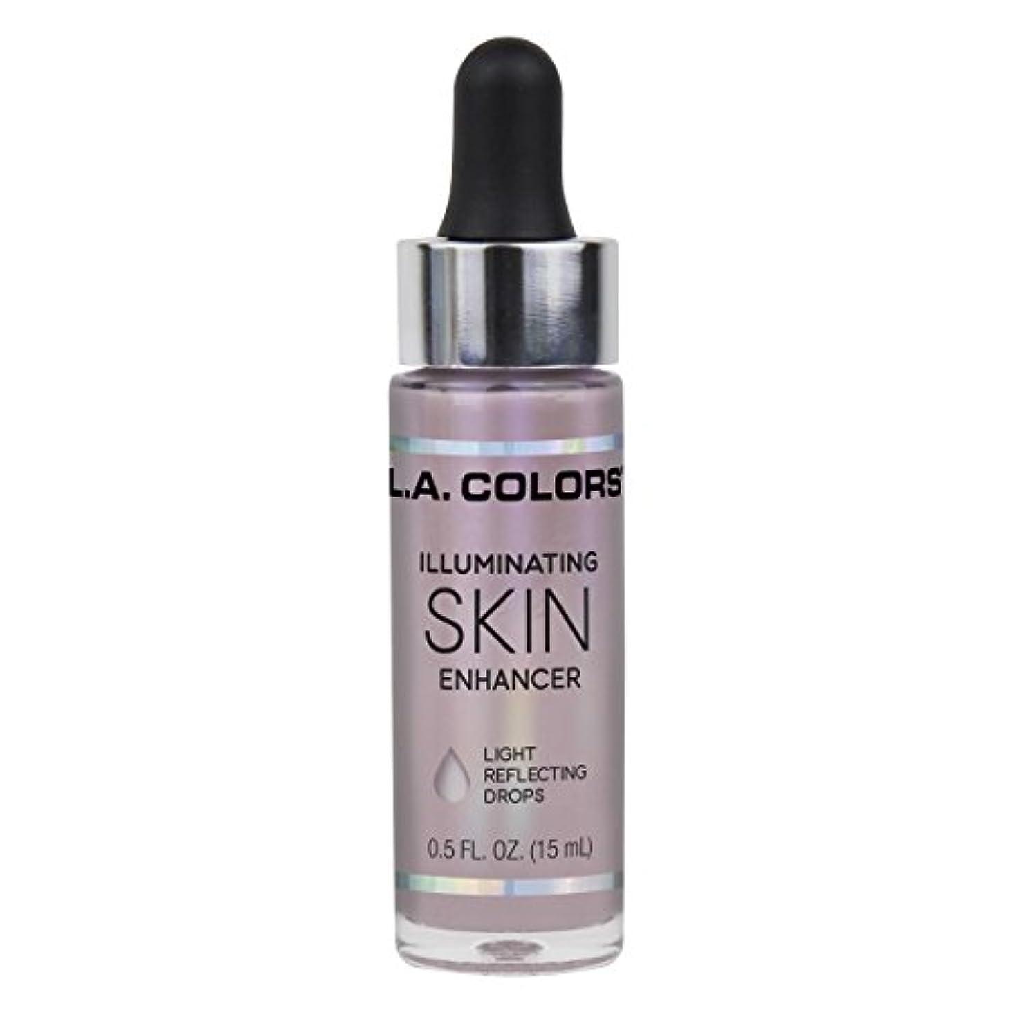 頭福祉運動L.A. COLORS Illuminating Skin Enhancer - Moonbeam (並行輸入品)