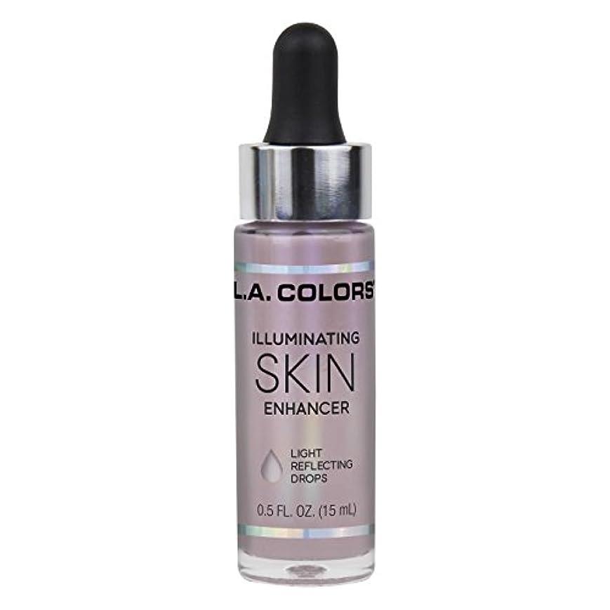 呪いスカート番目L.A. COLORS Illuminating Skin Enhancer - Moonbeam (並行輸入品)
