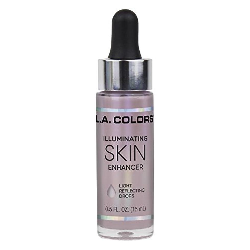 現金北へ好意L.A. COLORS Illuminating Skin Enhancer - Moonbeam (並行輸入品)
