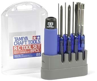 タミヤ RCツール8本セット 74085