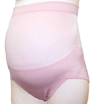 エンゼル マタニティ ガードル ショートタイプ (日本製) 妊婦帯 腹帯 産前 (ピンク, M)