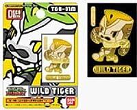 デコメタ TIGER&BUNNY(タイガー&バニー) SD T&B SD01 Gワイルドタイガー