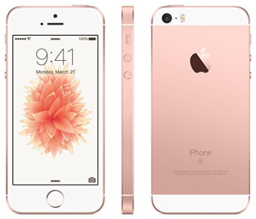 【SIMフリー】Apple iPhoneSE 16GB simfree docomo対応 softbank対応 au対応 ワイモバイルY!mobile対応 格安SIM MVNO対応 (ローズゴールド)