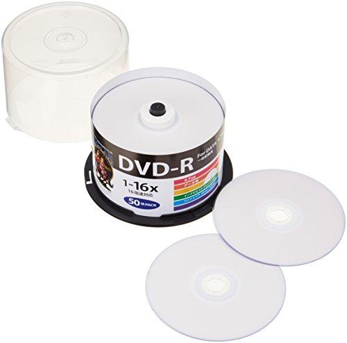 データ用DVD‐R HDDR47JNP50 50枚
