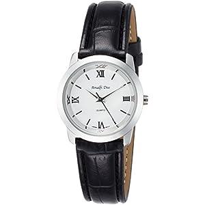 [アリアス]ALIAS 腕時計 アナログ アマルフィ 3気圧防水 革ベルト ホワイト A32L13 レディース